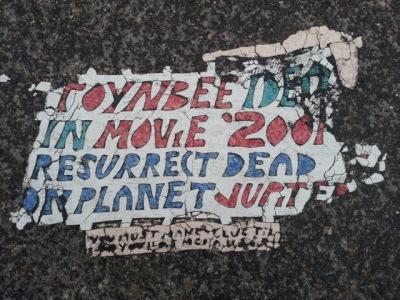 Toynbee tile, Smithfield Street, Pittsburgh