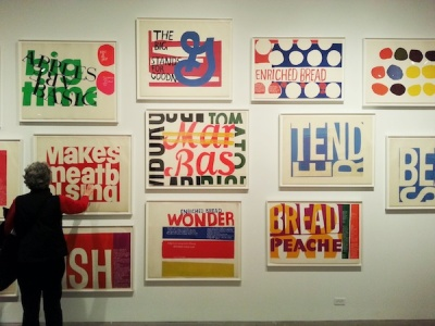 Someday is Now: The Art of Corita Kent show at The Andy Warhol Museum, Pittsburgh