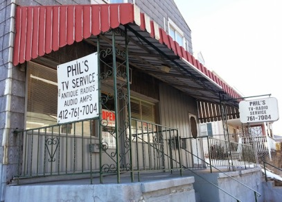 Phil's TV-Radio Service exterior