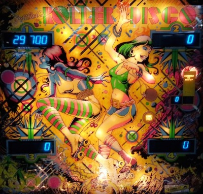 Gottlieb Roller Disco pinball machine