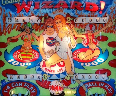 Bally Wizard! game