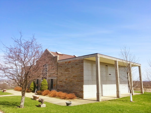 "New Chapel, where Jimmy ""The Greek"" is entombed, Union Cemetery, Steubenville, Ohio"