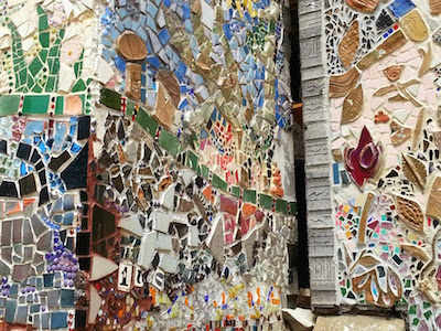 Yetta Street mosaic detail