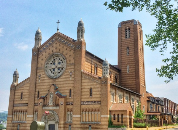 St. Michael Church, Munhall sans statue of Saint Joseph the Worker