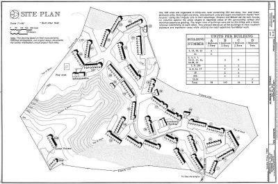 Aluminum City Terrace site plan, 1942