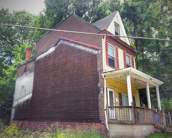 ghost house in Pittsburgh, PA