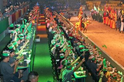 Medieval Times theater/restaurant