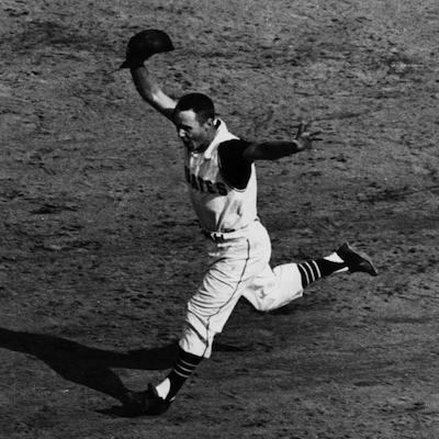 Bill Mazeroski's 1960 World Series-winning home run over the New York Yankees