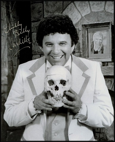 """Pittsburgh television/radio personality """"Chilly"""" Bill Cardille, from his time hosting """"Chiller Theatre"""""""