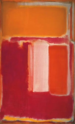"Mark Rothko ""Yellow, Cherry, Orange"" (1947)"