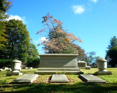 Cenotaph for E.K. Bennett, Homewood Cemetery, Pittsburgh, PA