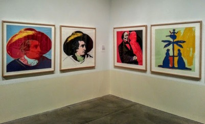 "silkscreens of book art from ""Warhol By The Book"" exhibit at The Andy Warhol Museum, Pittsburgh, PA"
