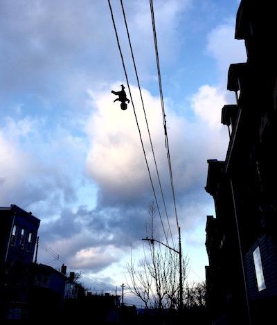 dangling baby vertical