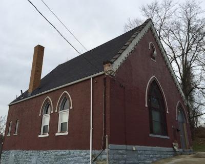 New Pilgrim Baptist Church formerly Kanascis Israel Synagogue, Pittsburgh, PA