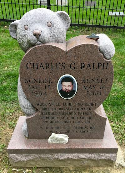 Heart-shaped gravestone, Highwood Cemetery, Pittsburgh, PA