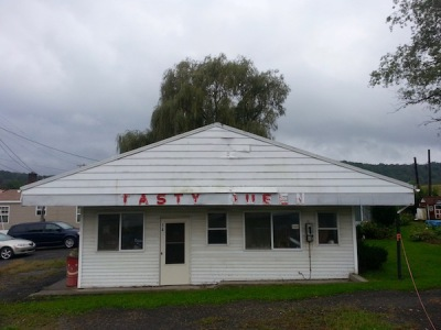 former Tasty Queen ice cream shop, Bruceton Mills, WV
