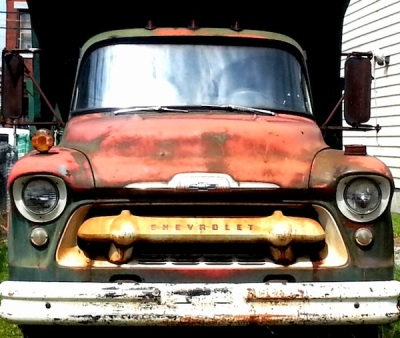 old Chevrolet truck, Pittsburgh, PA
