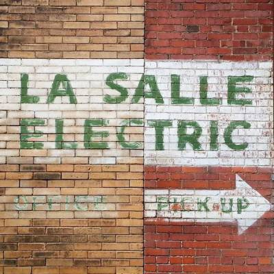 ghost sign for former La Salle Electric, Pittsburgh, PA