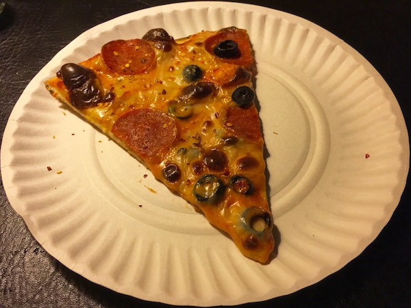 one slice of pizza on a paper plate P\u0026M Pizza Arnold ... & pizza \u2013 Pittsburgh Orbit