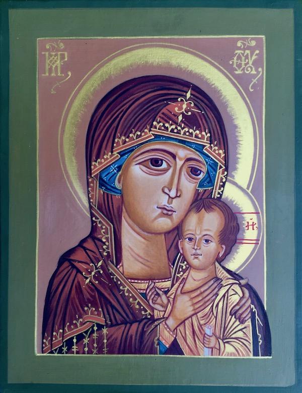 icon of St. Petrovskya by Simeon Larivonovoff