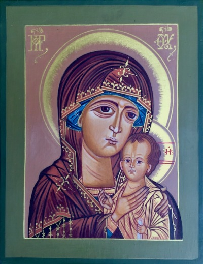 icon of St. Petrovskya by Simeon Larivonovoff