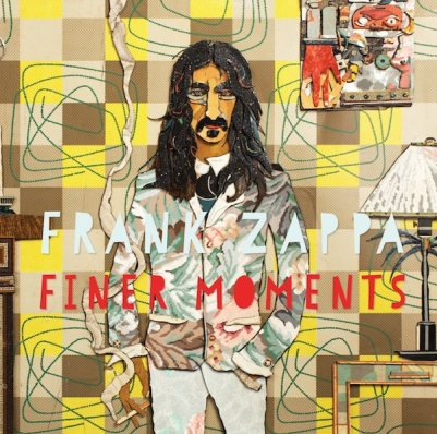 "Album cover for Frank Zappa ""Finer Moments"" LP, artwork by Bill Miller"