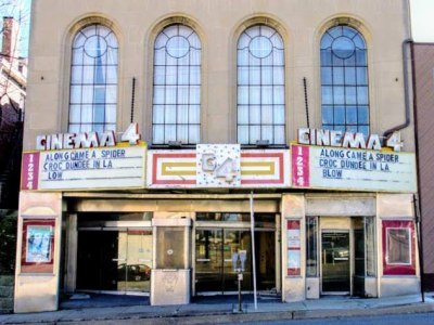 former Cinema 4 movie theater, Dormont, PA