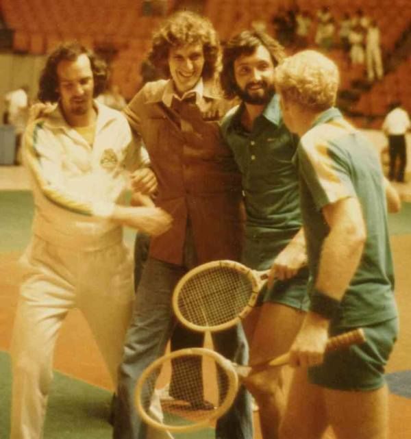 members of 1976 Pittsburgh Triangles World Team Tennis, 1976