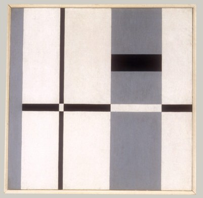 "Burgoyne Diller's geometric abstraction ""Second Theme"""