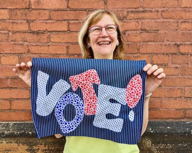 Pole-2-Polls coordinator Penny Mateer