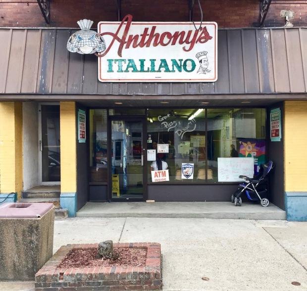 exterior of Anthony's Italiano, Donora, PA