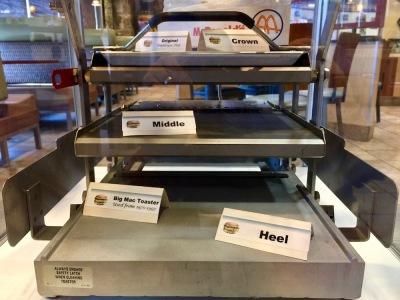 display model of Big Mac toaster in Big Mac Museum, North Huntingdon, PA