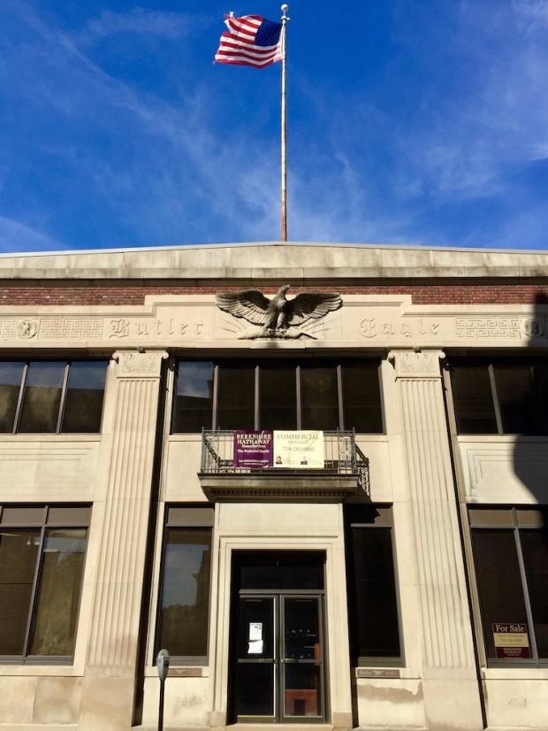 former office of Butler Eagle newspaper, Butler, PA