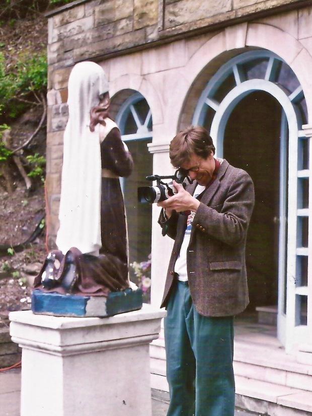 filmmaker David Craig with video camera