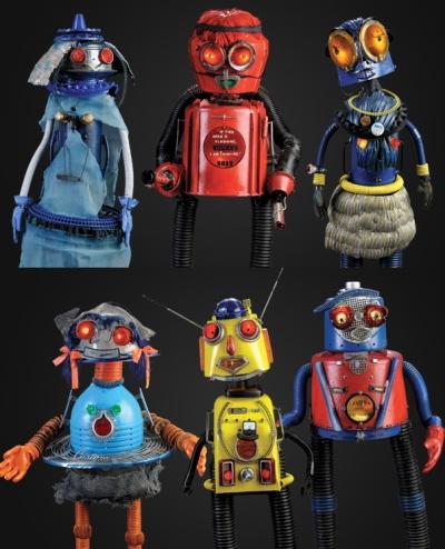 art robots created by DeVon Smith