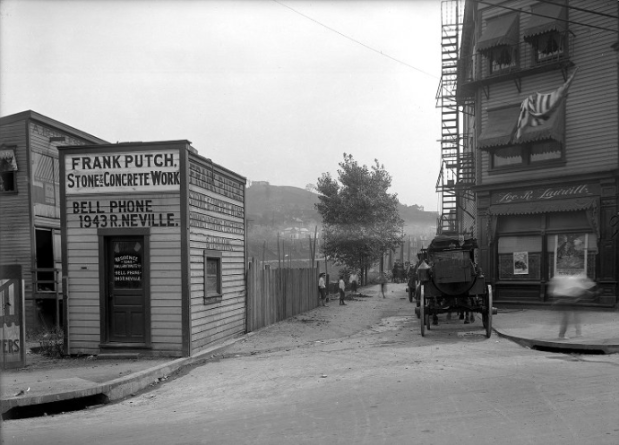 photo of Frank Putch Stone and Concrete company, Pittsburgh, PA