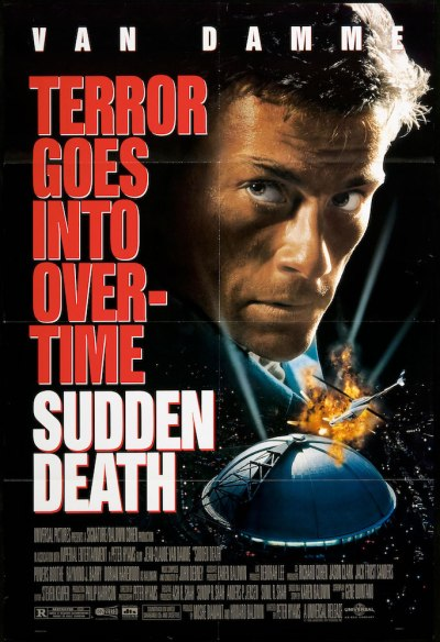 "film poster for ""Sudden Death"""