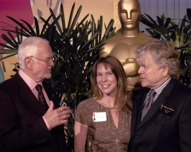 """Sudden Death"" author Karen Elise Baldwin at Academy Awards ceremony"