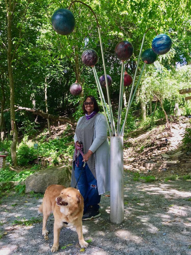 Central Park Pittsburgh gardener/caretaker Linda Lewis